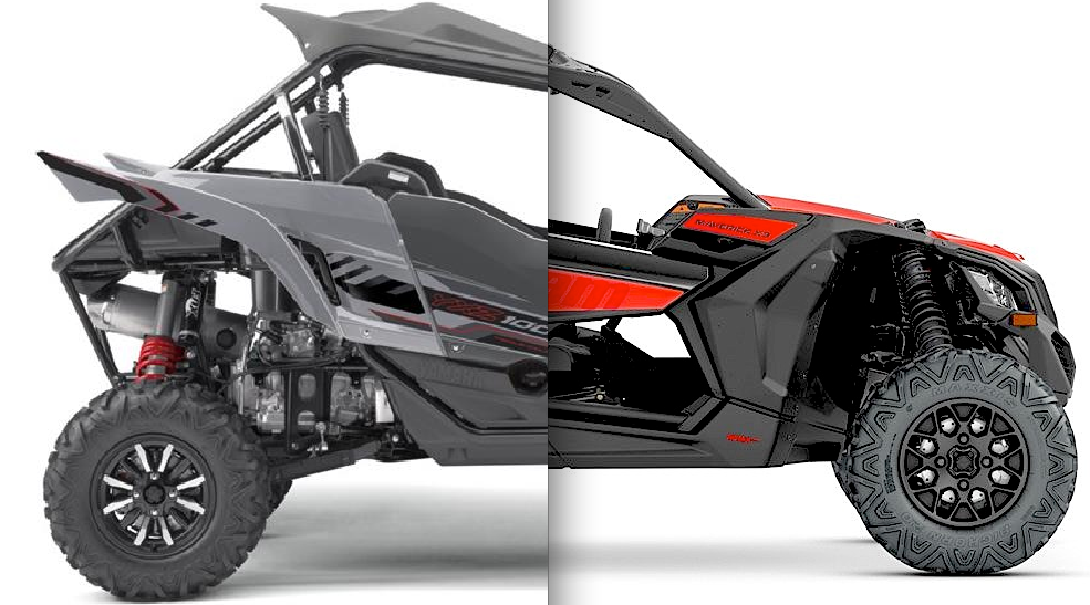 Can am x3 900 vs yamaha yxz1000r utv action magazine for Yamaha yxz1000r turbo