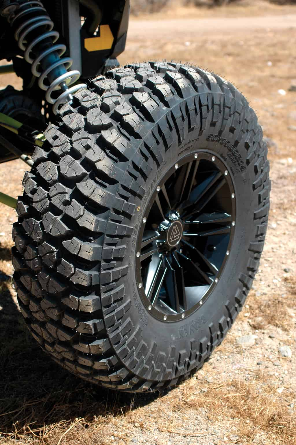 Tire Lug Nuts >> BRAVEN IRONSIDE TIRES & WHEELS | UTV Action Magazine
