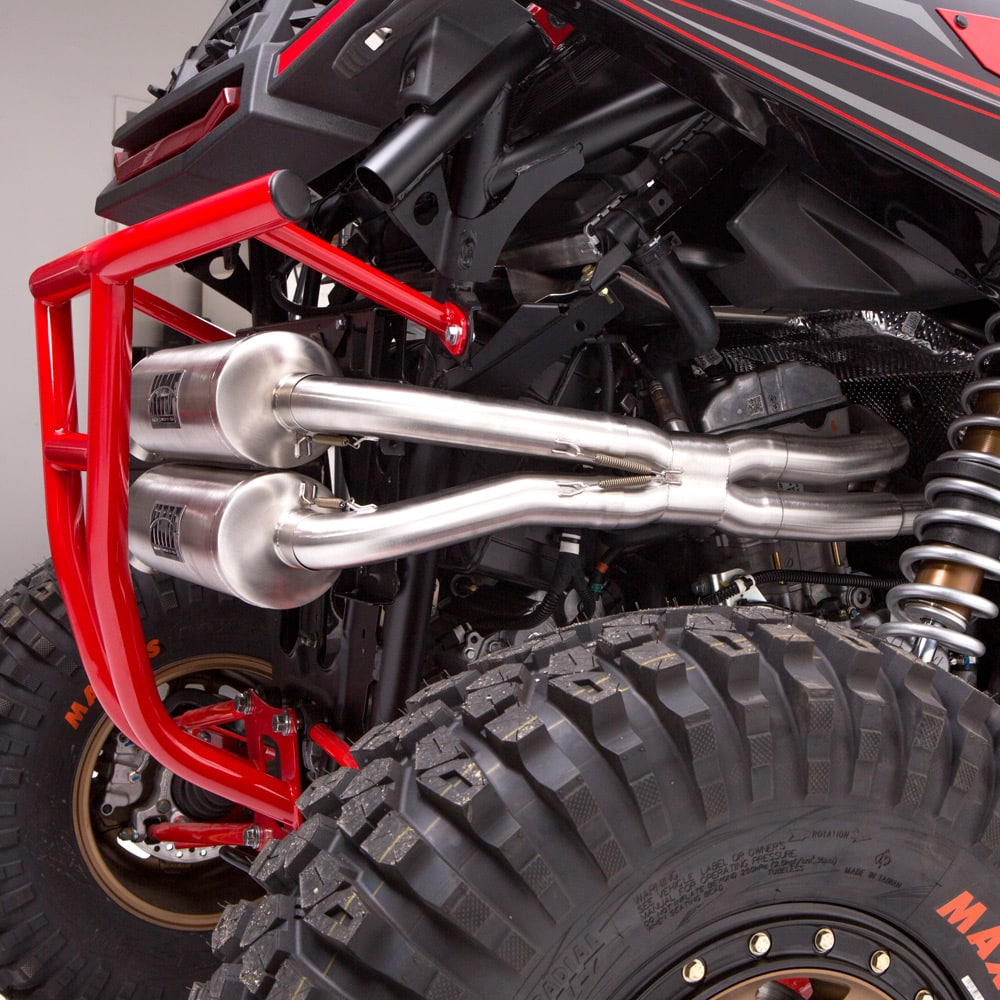 HMF Unveils Exhausts, Bumpers & more for RZR RS1! | UTV Action Magazine