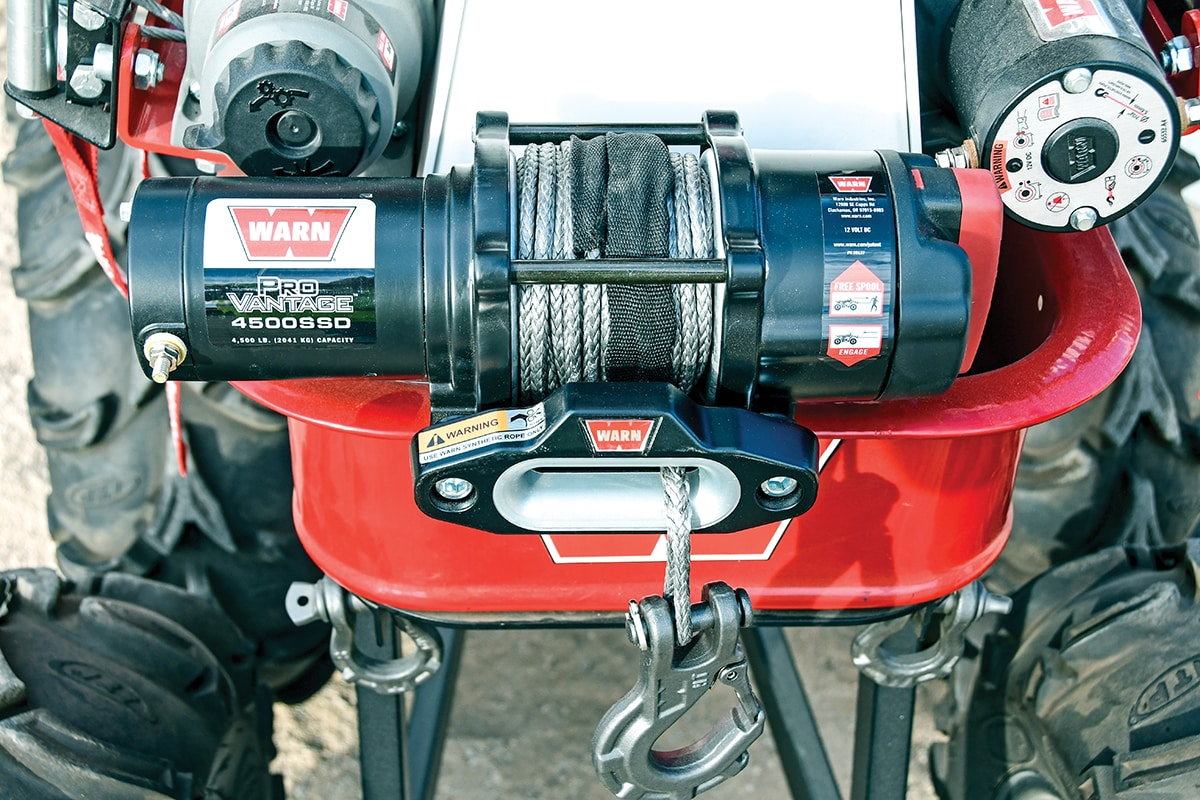 3 wire warn control diagram install a warn winch in a rzr xp 1000     utv action magazine  install a warn winch in a rzr xp 1000