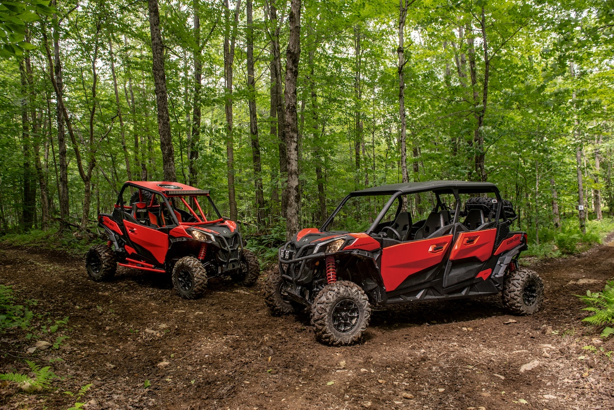 Can Am Adds 4 Seat Rock Amp Mud Maverick Sport For 2019