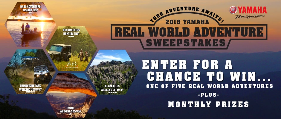 WIN A YAMAHA ADVENTURE WEEKEND | UTV Action Magazine