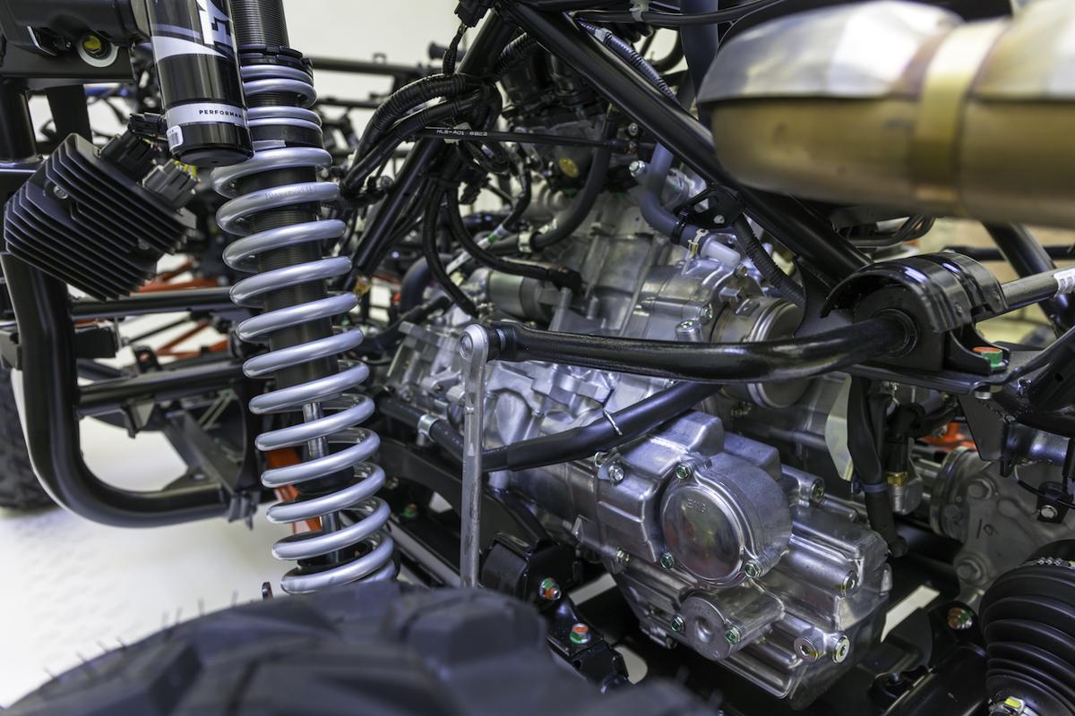 Honda talon turbo