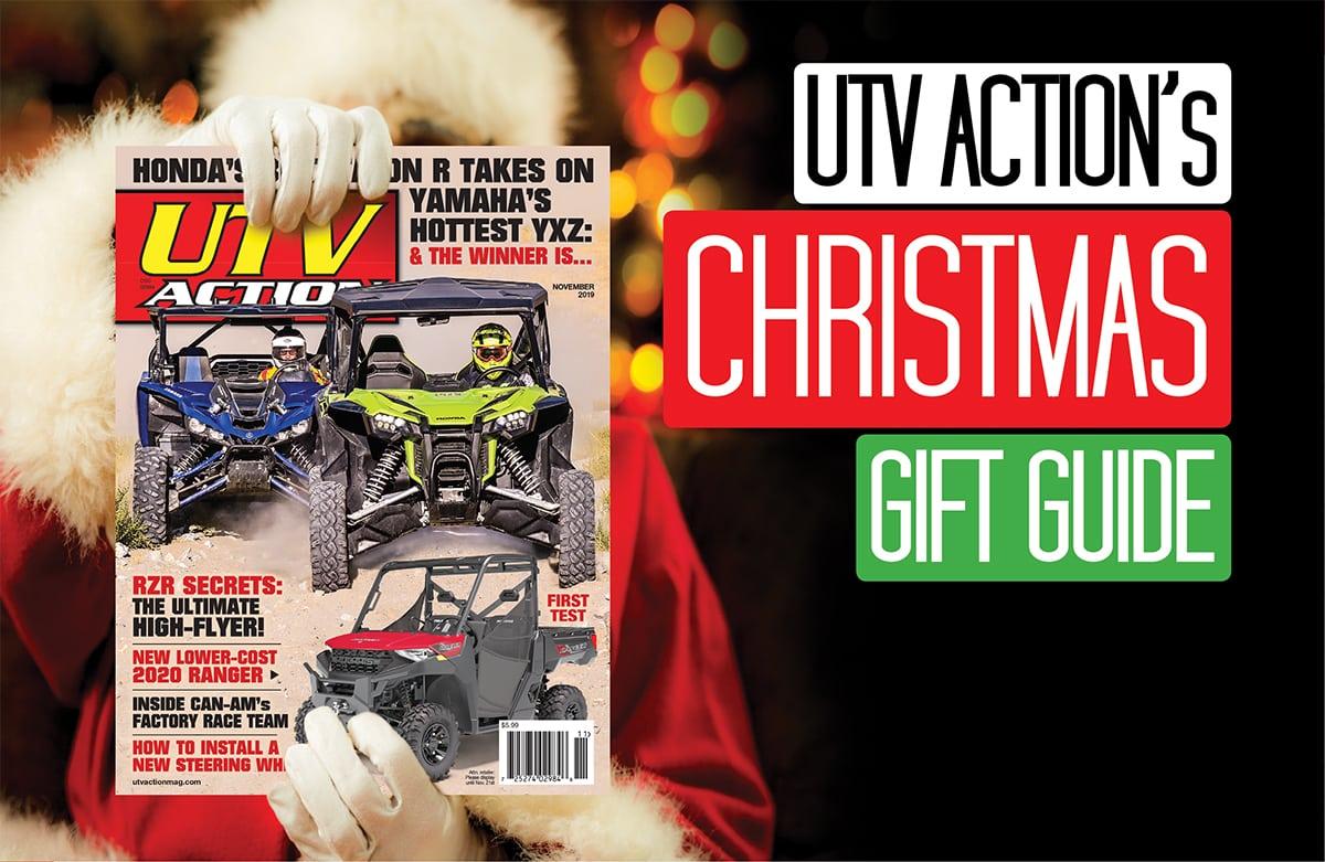 Utv Action S Christmas Gift Guide Utv Action Magazine
