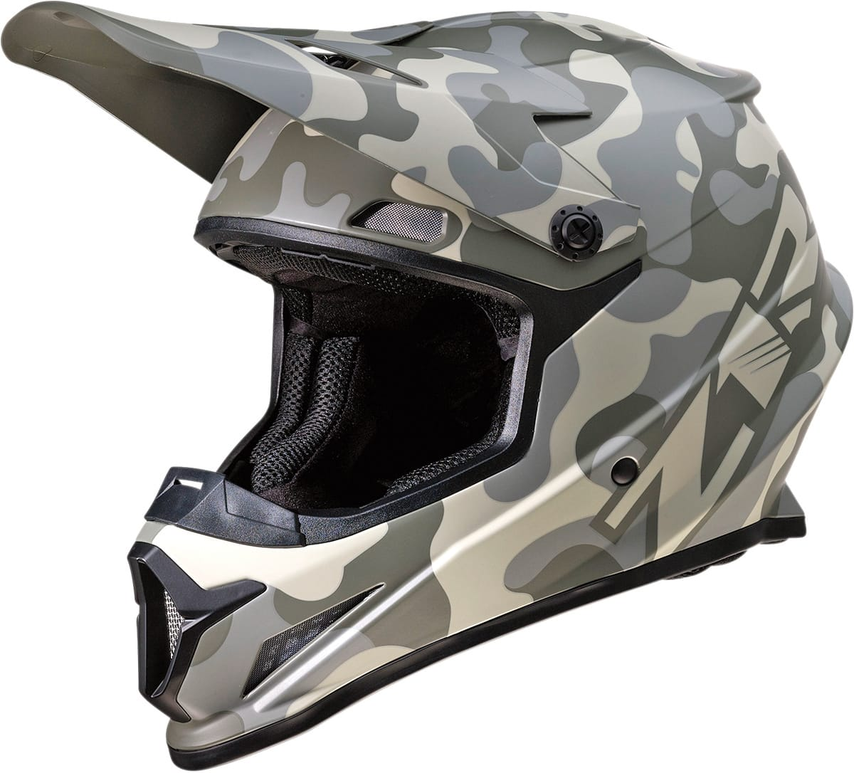 or Camo Motocross Dirt Bike Full Face Helmet DOT//ECE Ascend Z1R Rise Solid